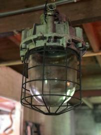 2 oude fabriekslampen xl (138288, 138289)