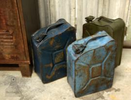 Jerrycan lichtblauw (132634)..verkocht