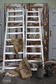Brocante houten ladder groot (131377) Verkocht