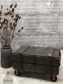 Oude kist op wielen (144392)