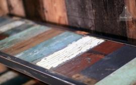 Sloophouten side table, dressoir op maat (130862)..verkocht