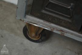 Dressoir op wielen grijs of zwart (136065)
