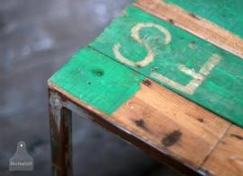 Sloophouten tafeltje (130617)..verkocht
