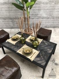 Visgraat maatwerk salontafel (144660)