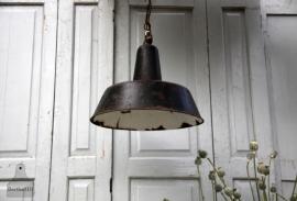 Oude industriële hanglamp (131192)..verkocht