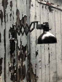 Oude scharnierlamp, schaarlamp (138758) verkocht