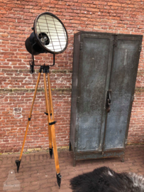 Oude statieflamp (138521) verkocht