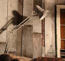 Industriele bureaulamp (130713)..verkocht