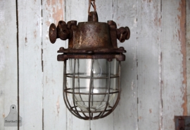 Oude geleefde Bully lamp (13157)..verkocht