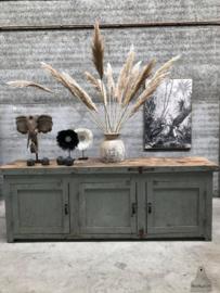 260 cm lang authentiek dressoir, kast, keukeneiland (144229) verkocht