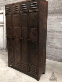 Hoge locker antiek (144161) verkocht