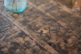 Industriële stoere horeca tafel op maat, scheepsluiken (132481)