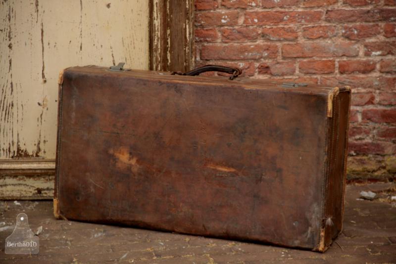 Leren reiskoffer (136211)