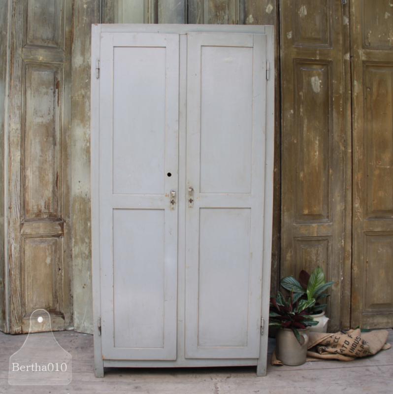 Uitgelezene Brocante kledingkast (133628)..verkocht | Verkocht | Te koop SU-96