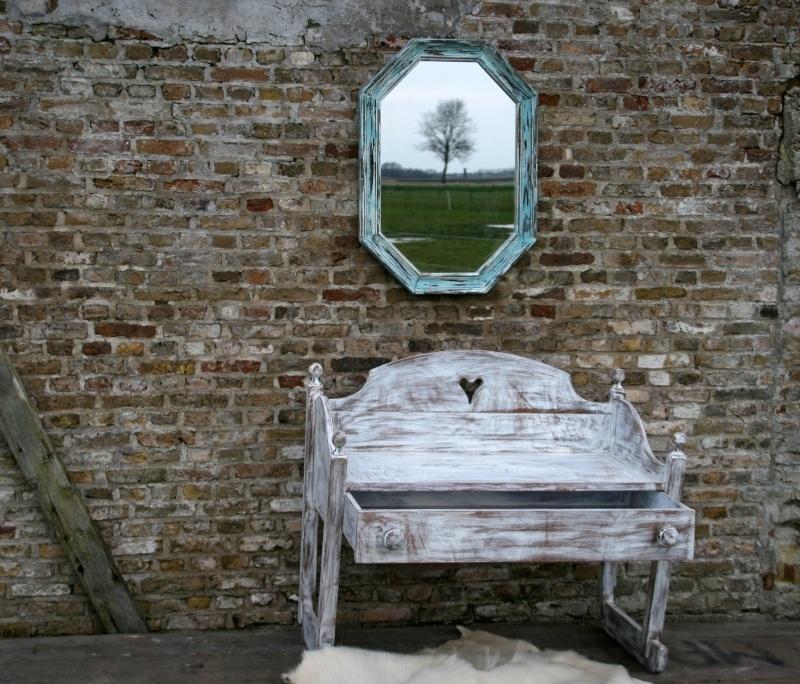 Achthoekige spiegel (130297)..verkocht