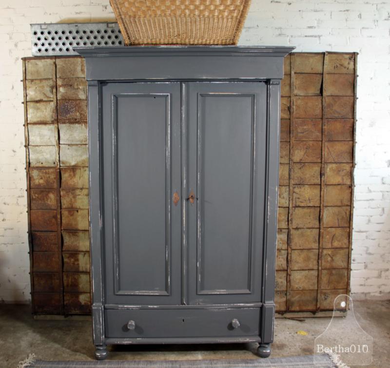 Welp Brocante kast (134633)..verkocht | Verkocht | Te koop CJ-09