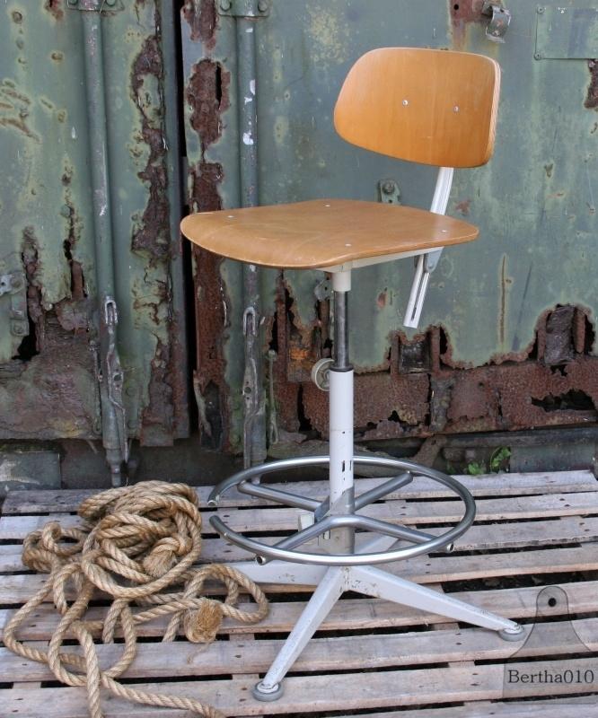 Industriele bureaustoel (130599)..verkocht