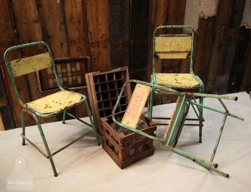 Industriele stoel (130723 t/m 726).