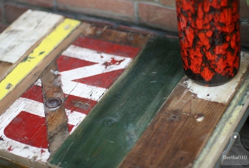 Sloophouten tafel (130508) verkocht