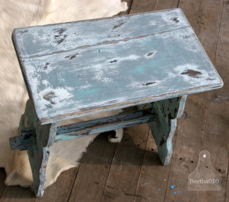 Oud bankje (130283) verkocht