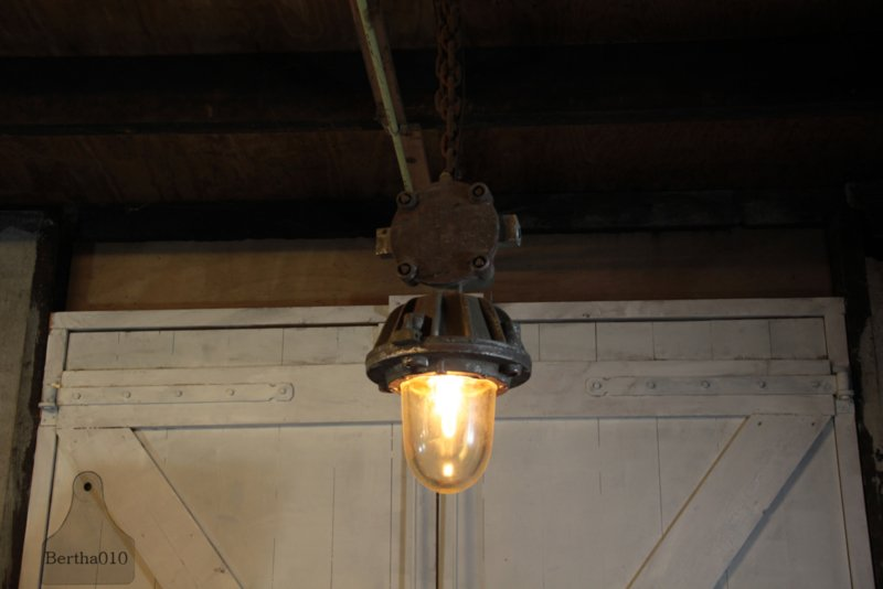 Authentieke fabrieks(hang)lamp (133199)