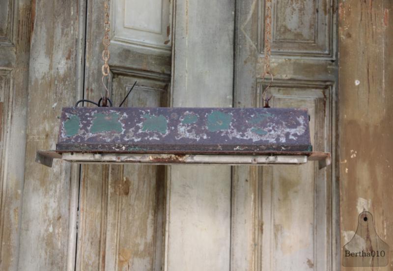 Originele industriele hanglamp (133637)....verkocht