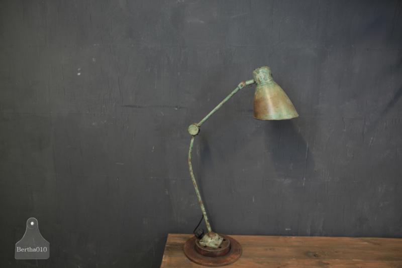Authentieke bureaulamp (136053)
