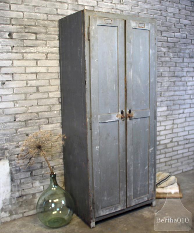 Verwonderend Oude brocante houten kast (132698)....verkocht | Verkocht | Te koop KZ-44