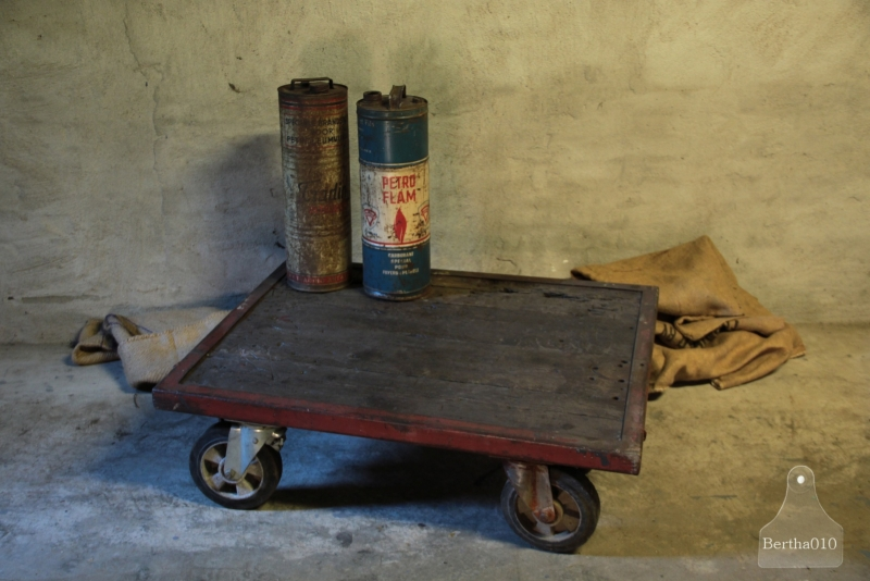 Stoere, authentieke trolley (132432)