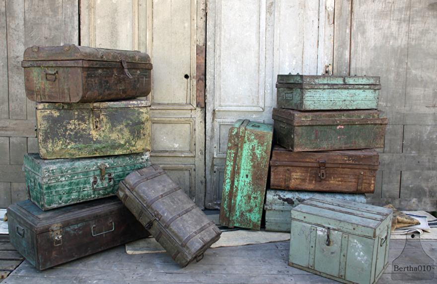 Oude Koffer Kist.Oude Koffers Te Koop