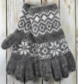 Geitenwollen handschoenen maat M