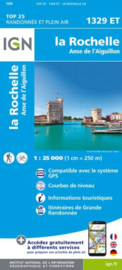 Wandelkaart La Rochelle - Anse de l'Aiguillon | Franse Atlantische Kust | IGN 1329ET - IGN 1329 ET | ISBN 9782758542612