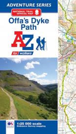 Wandelatlas Offa's Dyke path | A-Z Maps | 1:25.000 | ISBN 9781782571667
