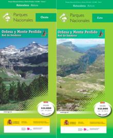 Wandelkaart Ordesa and Monte Perdido National Park  - 2-delige set | CNIG | 1:25.000 | ISBN 9788441637795
