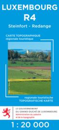 Wandelkaart Steinfort / Redance | Topografische dienst Luxembourg 04 | ISBN  5425013060424