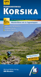 Wandelgids-Trekkinggids Fernwanderwege Korsika - Corsica | Michael Müller Verlag | ISBN 9783899535884