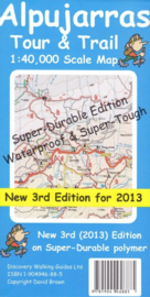 Wandelkaart Alpujarras Tour and Trail Map | Discovery Walking Guides | ISBN 9781904946885