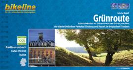 Afgeprijsd - Fietsgids Grünroute | Bikeline - 360 km. | ISBN 9783850003476