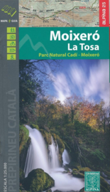 Wandelkaart Moixero La Tosa | Editorial Alpina | Gebied ten zuiden van Andorra | 1:25.000 | ISBN 9788480906777
