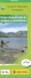 Wandelkaart - Topografische kaart Parque Naturel Lago de Sanabria y alrededores | CNIG | ISBN 9788441626188