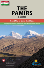 Wegenkaart The Pamirs | Gecko Maps | ISBN 9783906593357