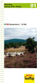 Wandelkaart Winterberg, Bestwig, Brilon, Olsberg   Geomap   1:25.000   ISBN 9783936184570