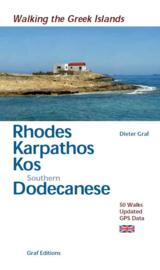 Wandelgids Rhodos, Karpathos, Kos en de zuidelijke Dodekanesos   Graf Verlag   ISBN 9783981404715