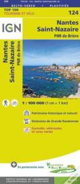 Wegenkaart - Fietskaart Nantes - Saint Nazaire | IGN 124 | ISBN 9782758543701