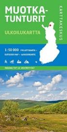 Wandelkaart Muotka Tunturit   Karttakeskus - Genimap   1 :50.000   ISBN 9789522663245
