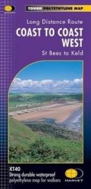 Wandelkaart Coast to Coast path west | Harvey | 1:40.000 | ISBN 9781851374885