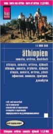 Wegenkaart Ethiopie, Eritrea, Somalie - Djibouti | Reise Know How | 1:1,8 miljoen | ISBN 9783831773268