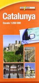 Auto - Fietskaart Catalonia No. 6 | GeoEstel | 1:250.000 | ISBN 9788415237181