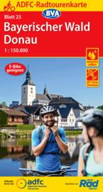 Fietskaart Bayerischer Wald / Donau | ADFC nr. 23 | ISBN 9783870739751