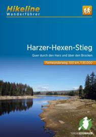 Wandelgids-Trekkinggids Harzer Hexen-Stieg | Hikeline | Esterbauer Verlag | ISBN 9783850007481